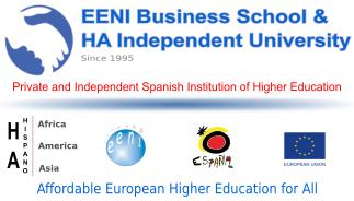 Master Doctorate International Business Online