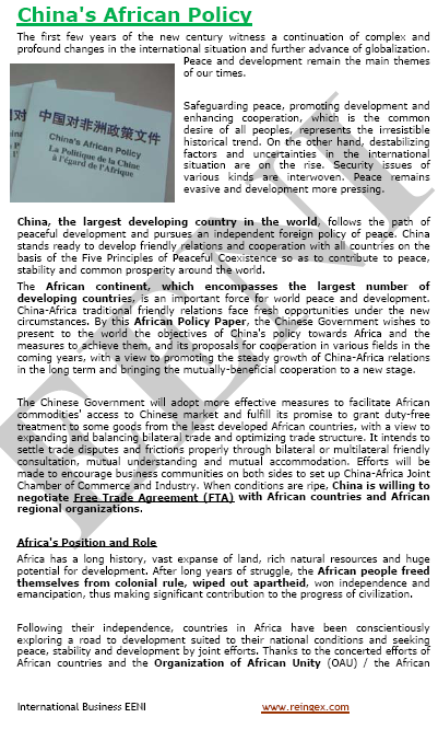 china africa trade and economic relationship