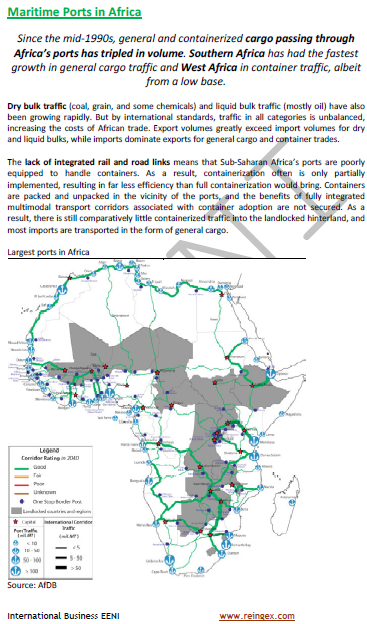 Maritime Transport in Africa