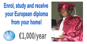 African Student, Doctorate, Master International Business, Trade