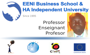Aliou Niang, Senegal (Professor, EENI Business School)