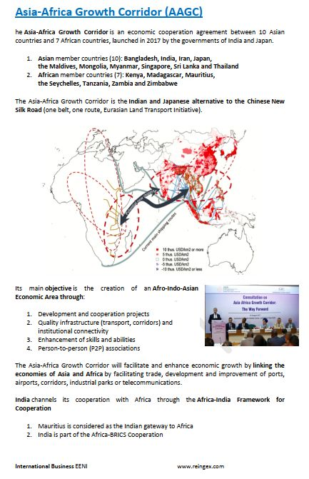 Asia-Africa Growth Corridor (Course Master)