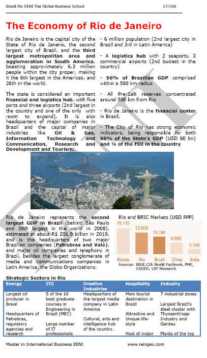 International Trade and Business in Rio de Janeiro