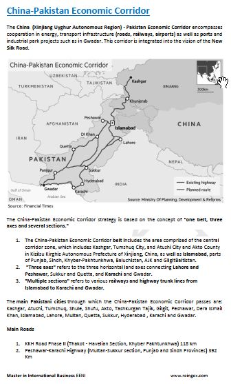 China-Pakistan Economic Corridor Course