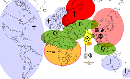 Map Civilisations and integration