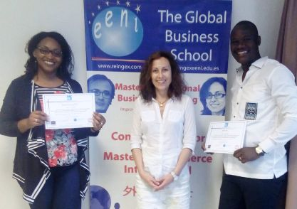 African Students, Master International Business