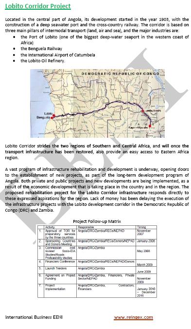 Curs Transport: Corredor de Lobito Àfrica
