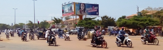 Motorcycles in Burkina Faso