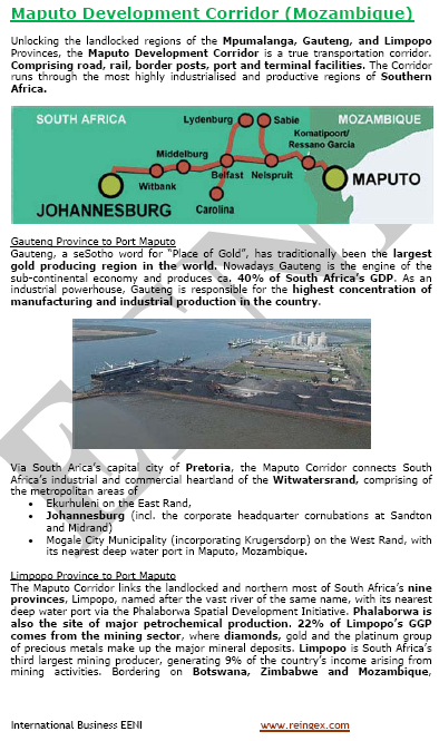 Online Doctorate: Port of Maputo