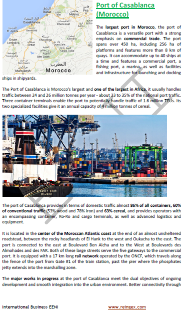 Port of Casablanca (Morocco)