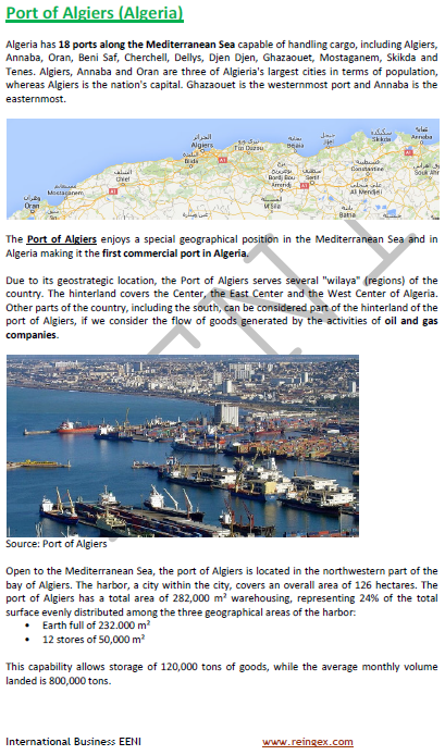 Online Course: Ports of Algeria