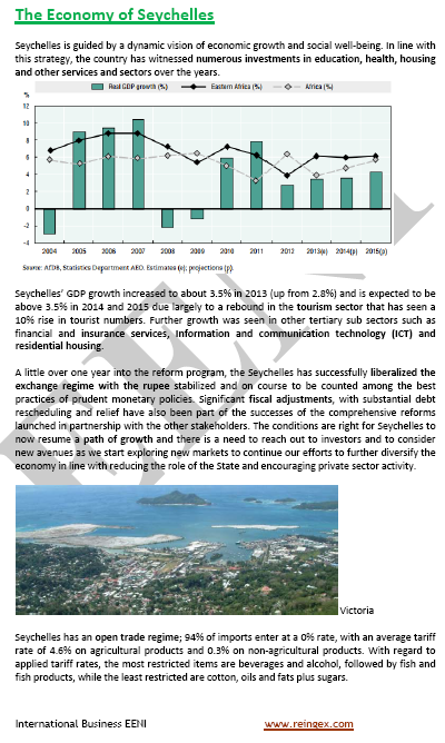 Course: Doing Business in Seychelles