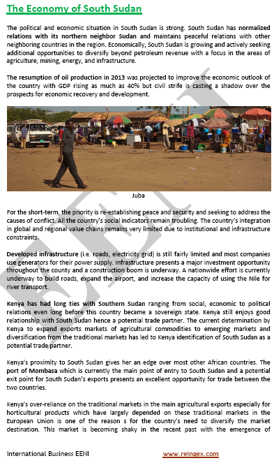 Doing Business in South Sudan
